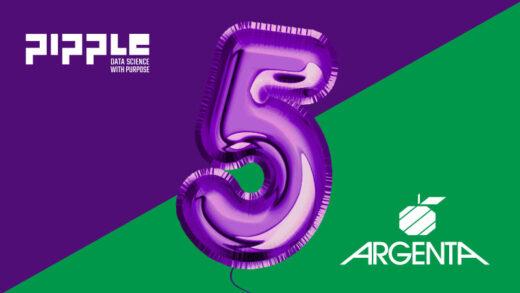 5-jarig jubileum Pipple & Argenta